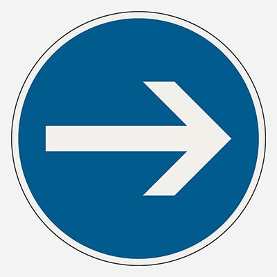 Prikázaný smer odbočenia