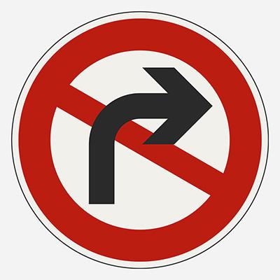 Zákaz odbočenia
