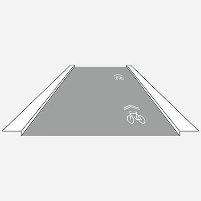 Koridor pre cyklistov