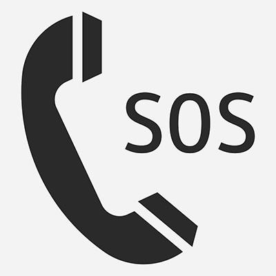 Telefón núdzového volania